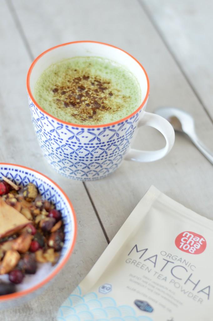 Pumpkin Spice Matcha Latte