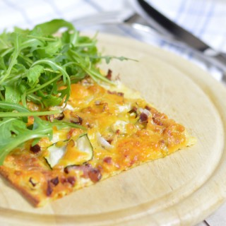 Low-Carb Flammkuchen