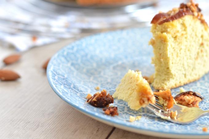 Low-Darb Apfelkuchen mit Mandelcrumble