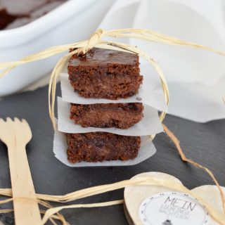 Mehlfreie Brownies mit Banana Joe