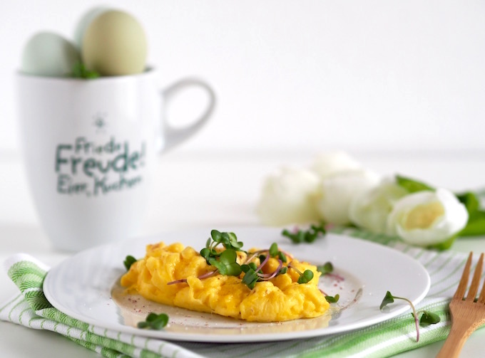 Die perfekte Eierspeise