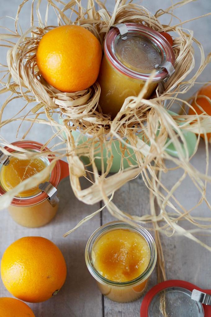 Quitten-Birnen-Orangen Marmelade
