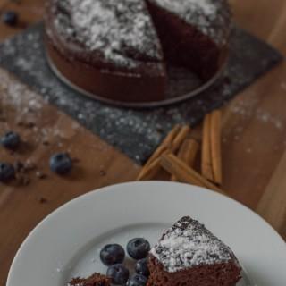 Rote Rüben-Schokoladen-Kuchen