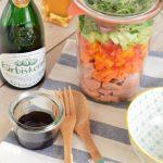 Wurstsalat im Glas