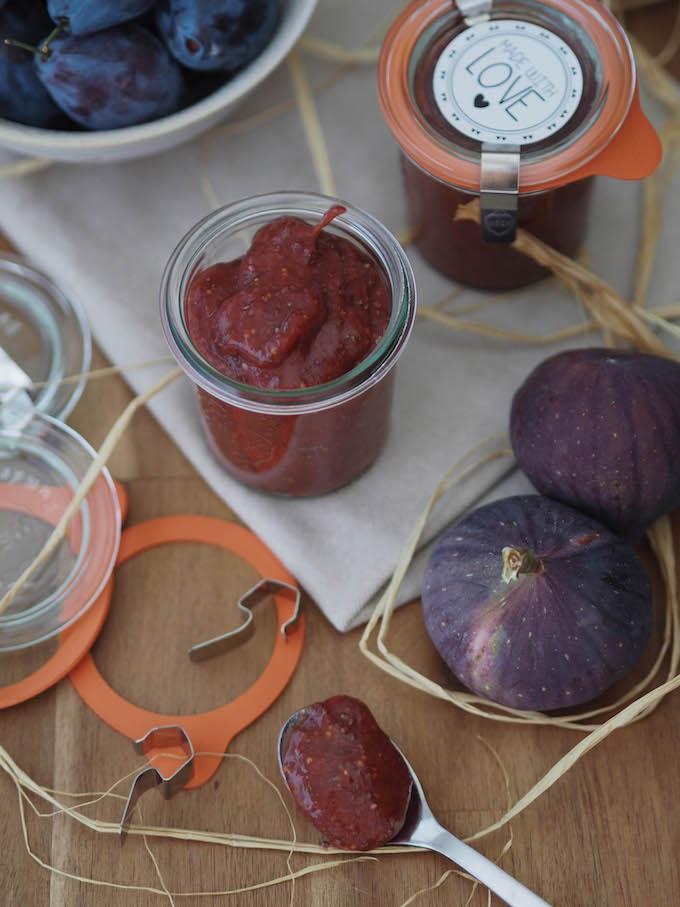 superfood zwetschgen feigen marmelade bacon and berries. Black Bedroom Furniture Sets. Home Design Ideas