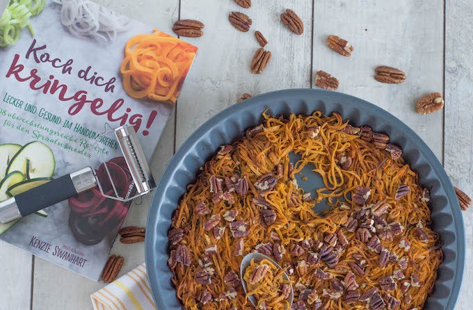 Koch dich kringelig & Süßkartoffelauflauf