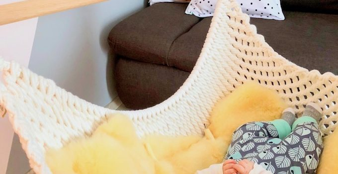 Schlaf, Beerchen, schlaf! Mit dem Babyschwinger ins Träumeland