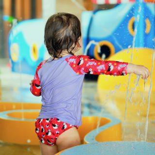 Ab ins Wasser! – mit wiederverwendbarer Schwimmwindel